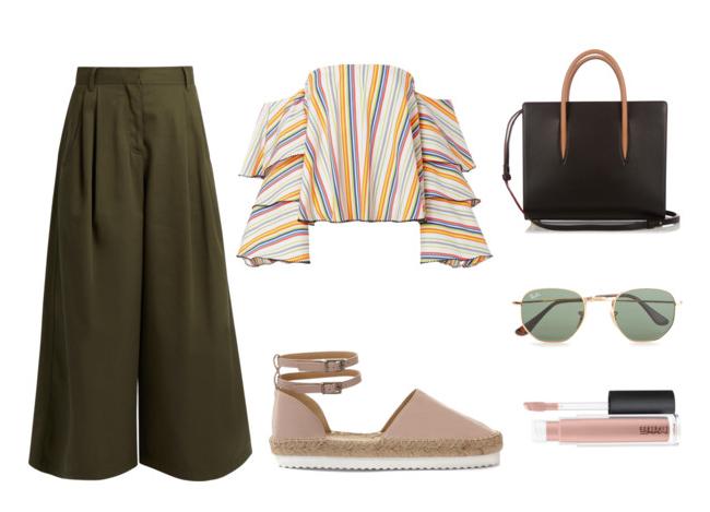 Стилски деловен изглед   панталони со висок струк во различни комбинации