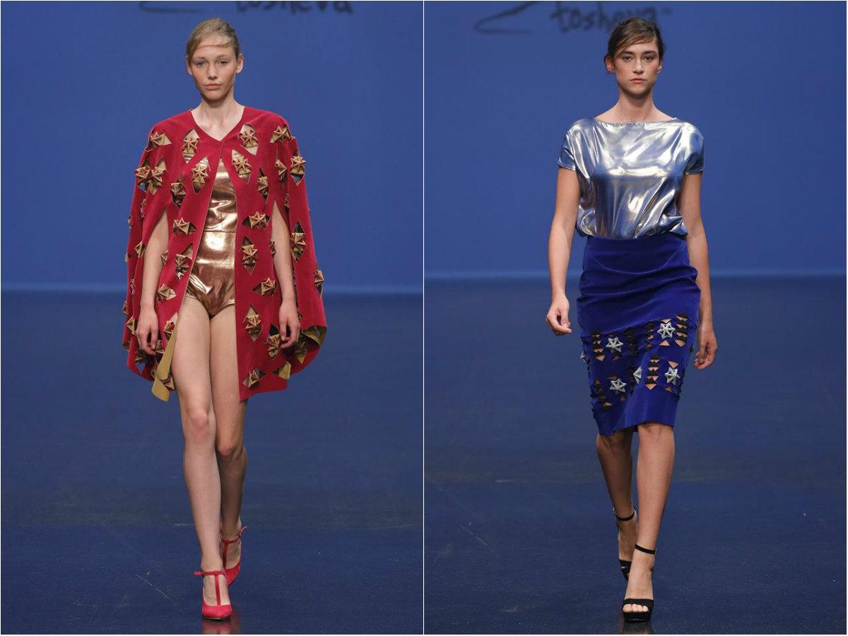 Ирина Тошева втор пат дел од 3Д модниот настан во Дизелдорф