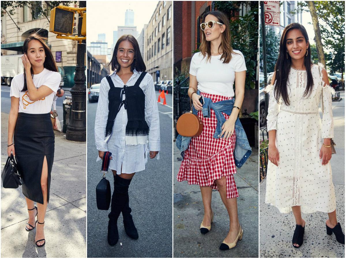 Што носат четири модни уреднички за време на актуелните модни недели