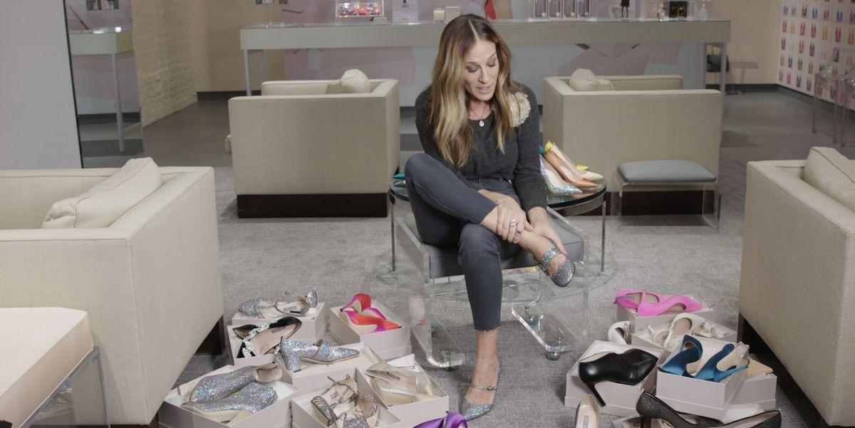 Колку чевли може да облече Сара Џесика Паркер за 90 секунди