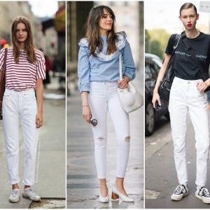 Како ова лето да ги комбинирате белите панталони | Fashionel