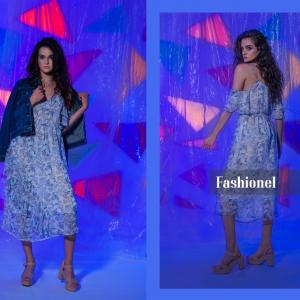 Тренд аларм: Лелеав цветен фустан е сè што ви треба летово   Fashionel