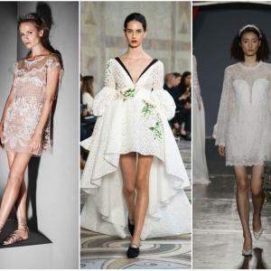 Смел избор за летна венчавка: кратки венчаници | Fashionel