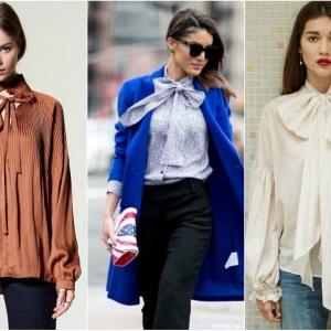 Романтични блузи и кошули со панделки | Fashionel
