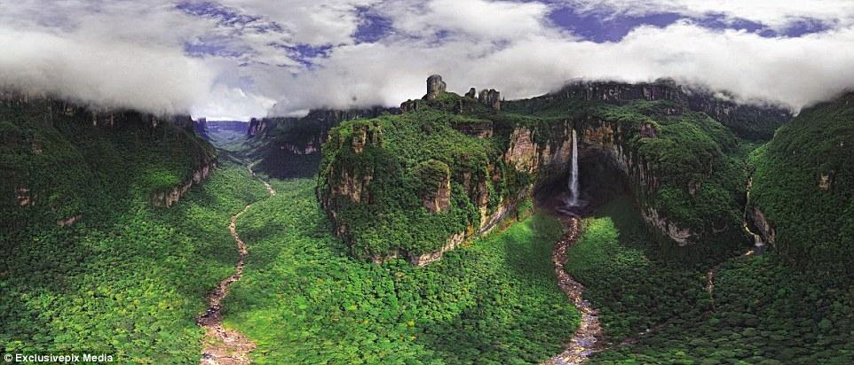 Водопади, Венецуела
