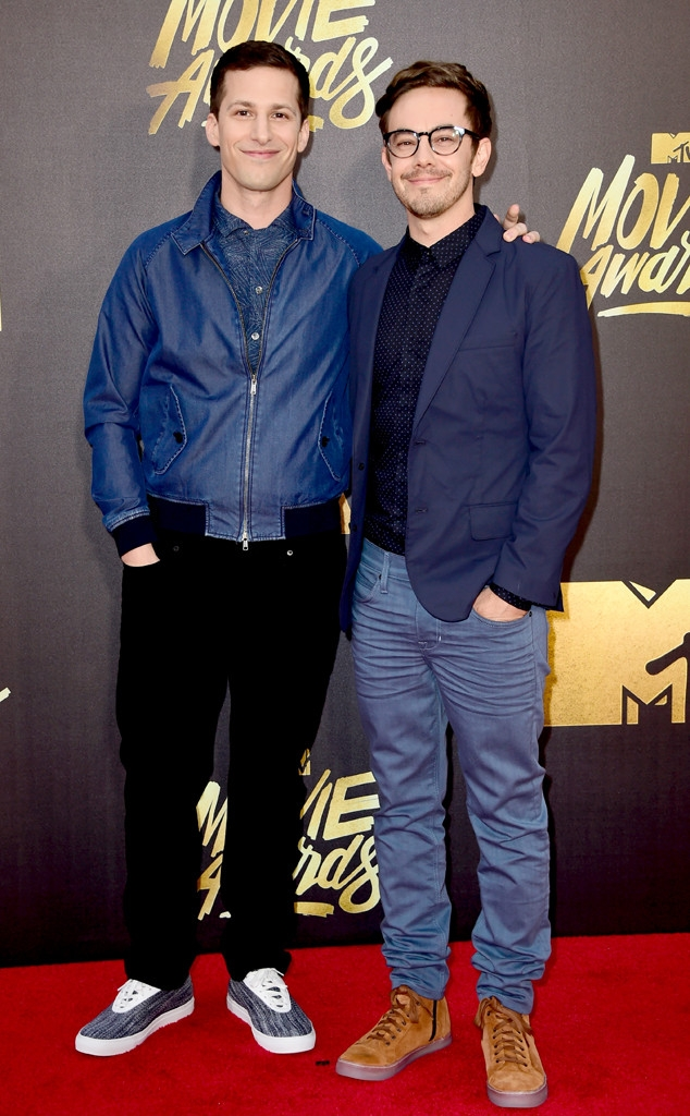 MTV movie awards 2016: Andy Samberg and Jorma Taccone