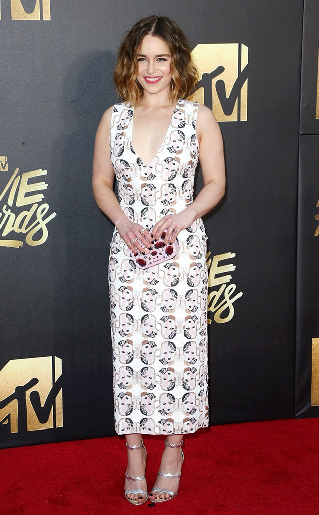 MTV movie awards 2016: Emilia Clarke