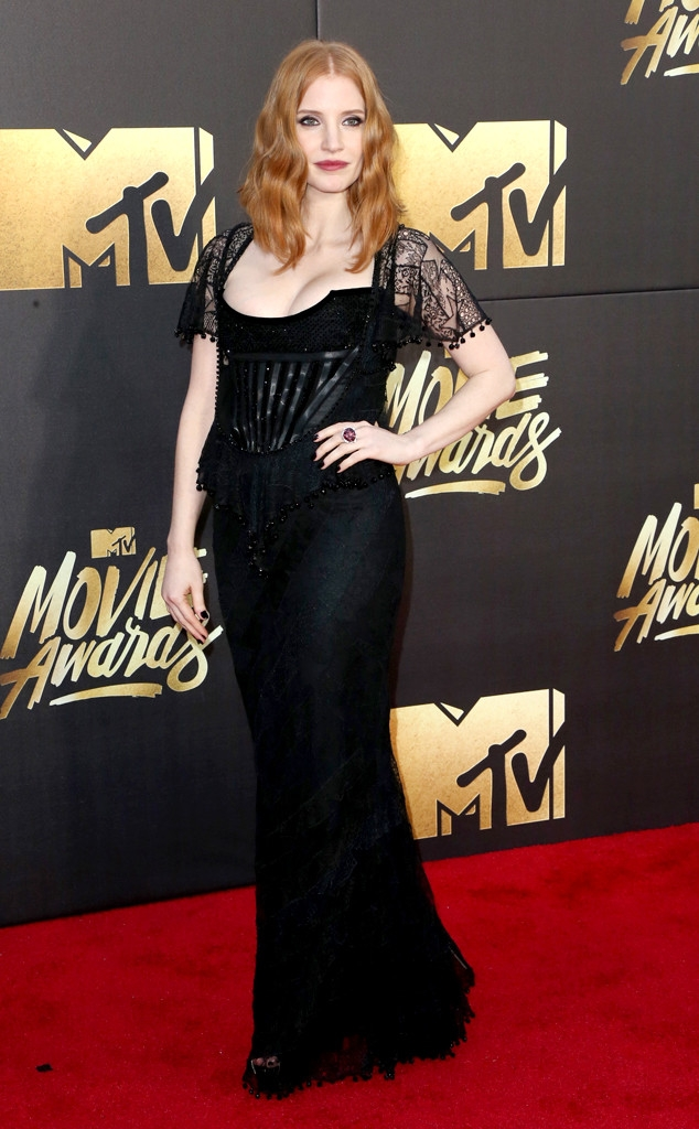MTV movie awards 2016: Jessica Chastain