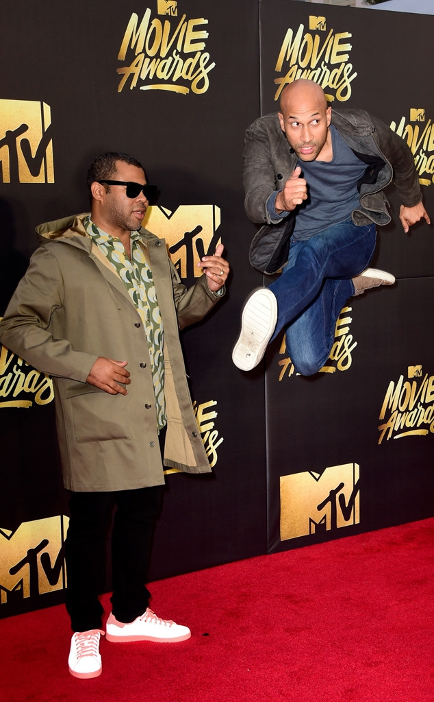 MTV movie awards 2016: Jordan Peele Keegan and Michael Key Key Peele