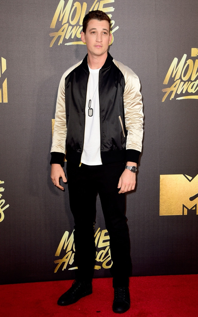 MTV movie awards 2016: Miles Teller