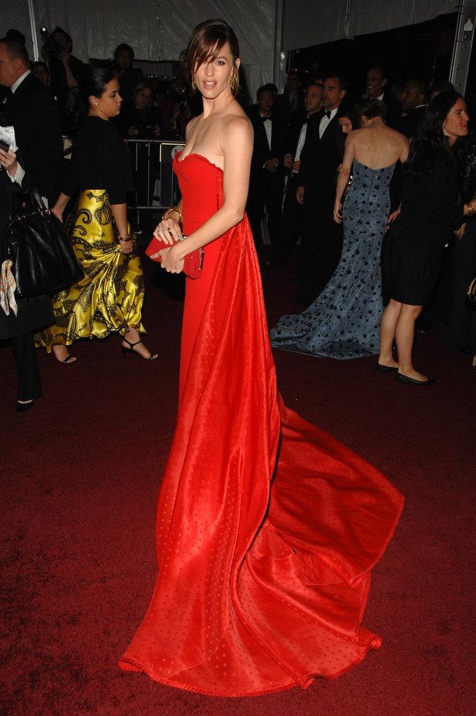 """2007 - Џенифер Гарнер во креација на """"Валентино"""""""
