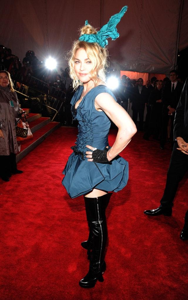 """2009 - Мадона во креација на """"Луј Витон"""""""