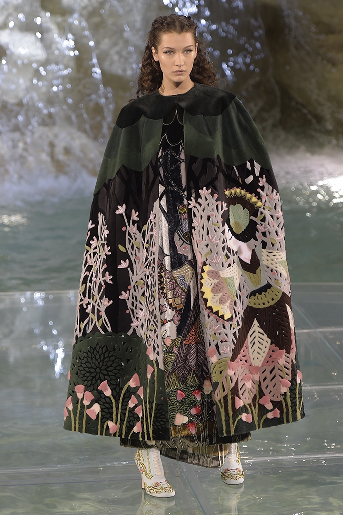 Fendi couture show, 90th anniversary