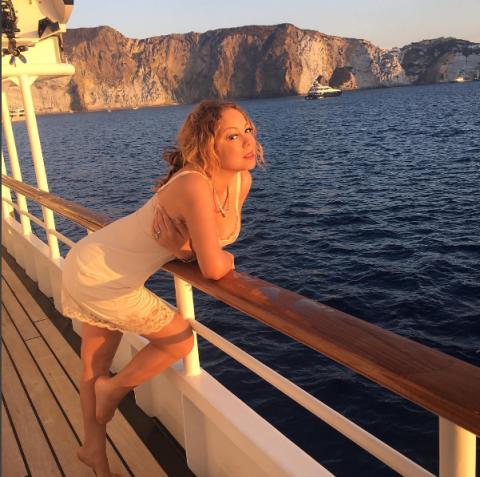 Мараја Кери, Понза Италија