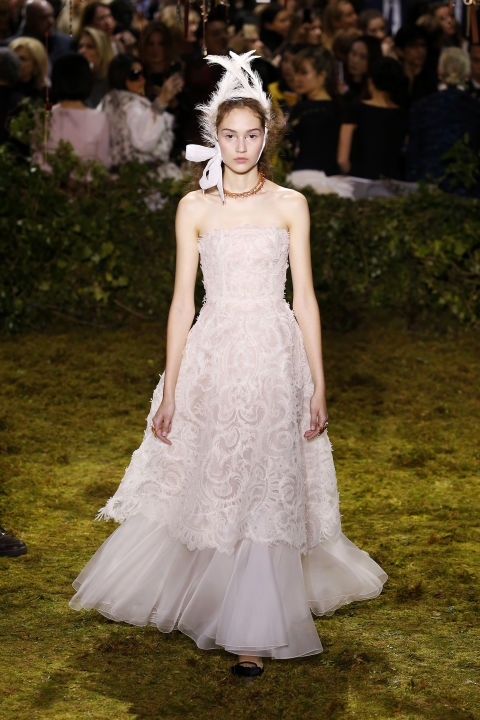 Chrstian Dior - haute couture ss17