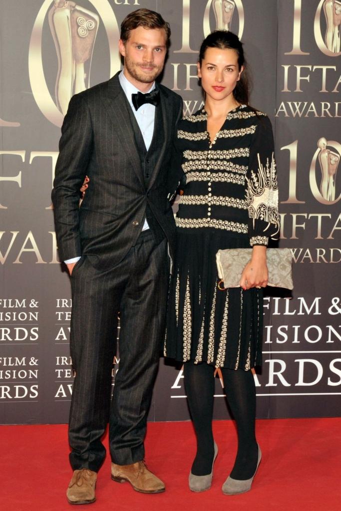 2014 - со сопругата на Ирските телевизиски награди
