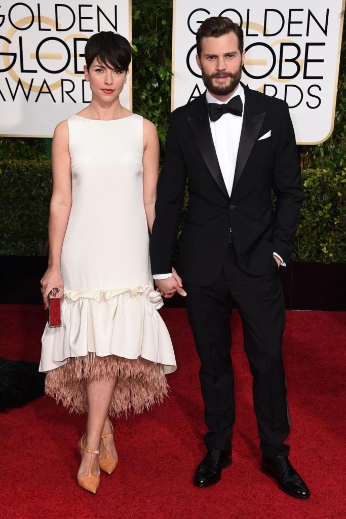 2015 - со сопругата на Златен глобус