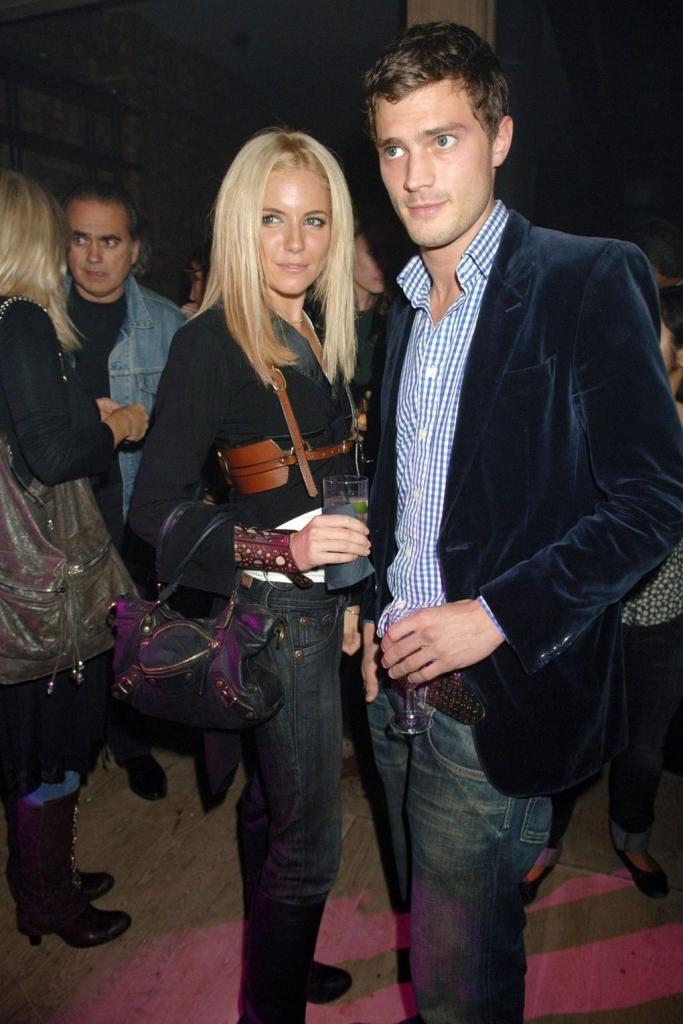 2006 - со Сиена Милер на забава на Pepe Jeans