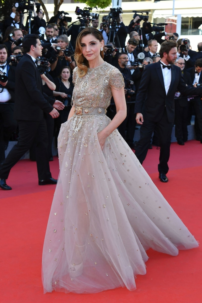 Clotilde Courau - Elie Saab