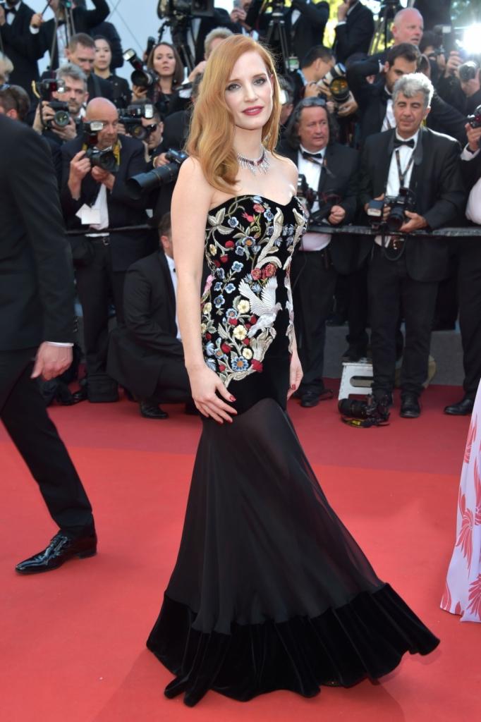 Jessica Chastain - Alexander McQueen