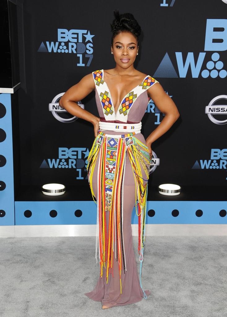 Nomzamo Mbatha; извор: elle.com/Getty