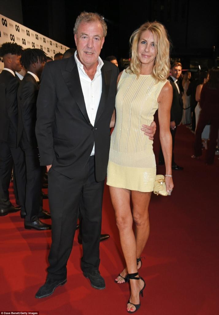 Jeremy Clarkson and Lisa Hogan