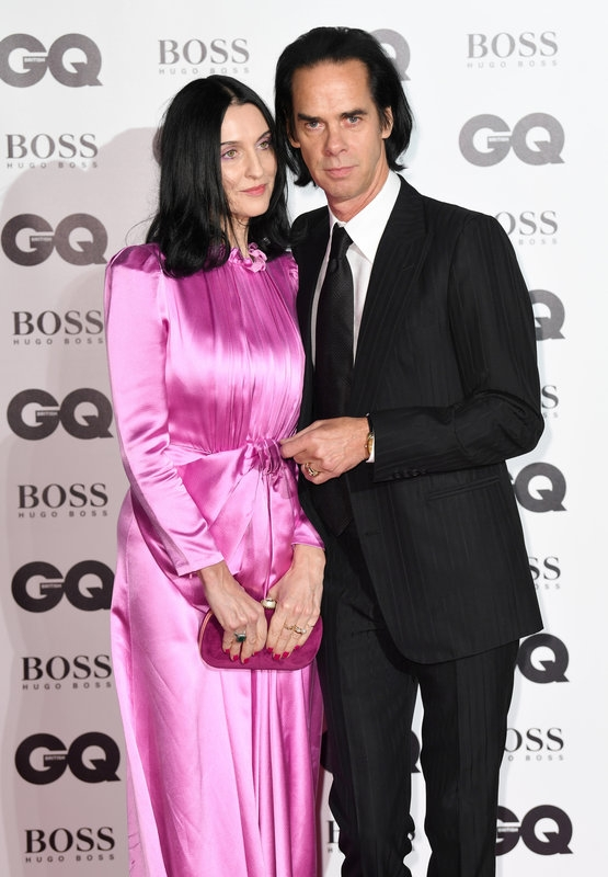 Susie Bick and Nick Cave