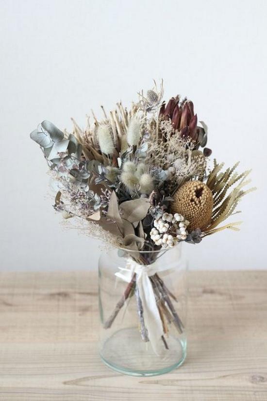 Викенд проект: декорации со суво цвеќе за ...