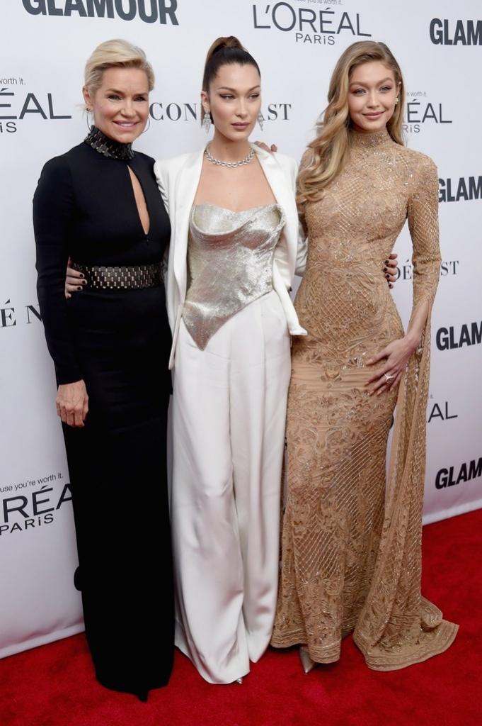 Yolanda Foster, Bella Hadid, Gigi Hadid