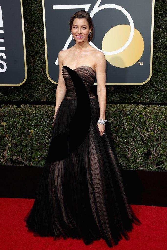 Jessica Biel - Dior Haute Couture