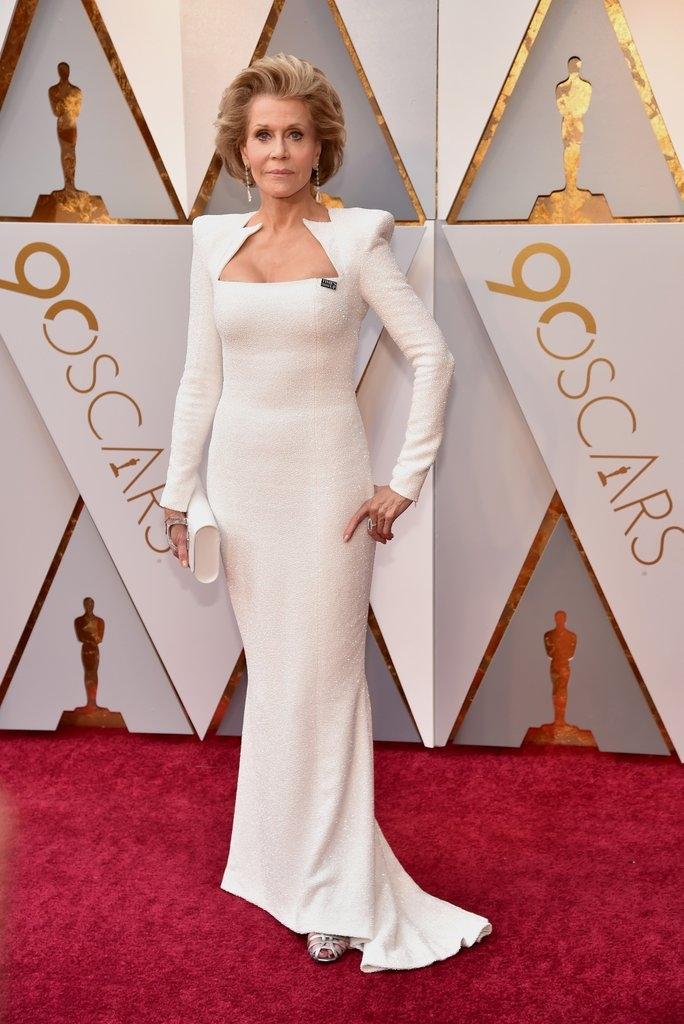Jane Fonda -  Balmain 44 François Premier