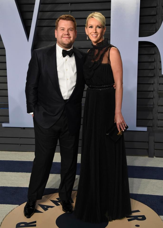 James Corden - Julia Carey