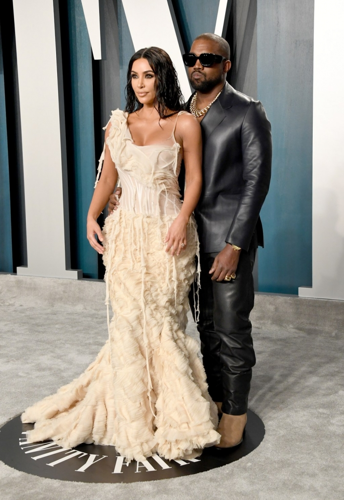 Kim Kardashian West / vintage Alexander McQueen and Kanye West