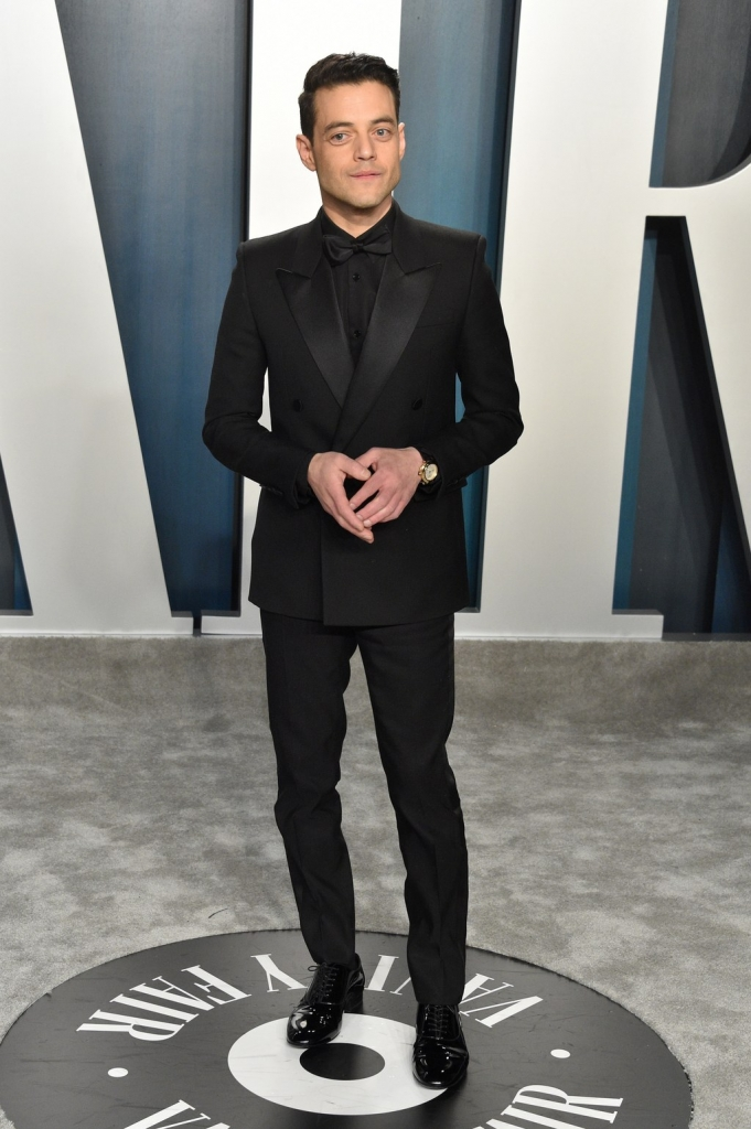 Rami Malek in Saint Laurent