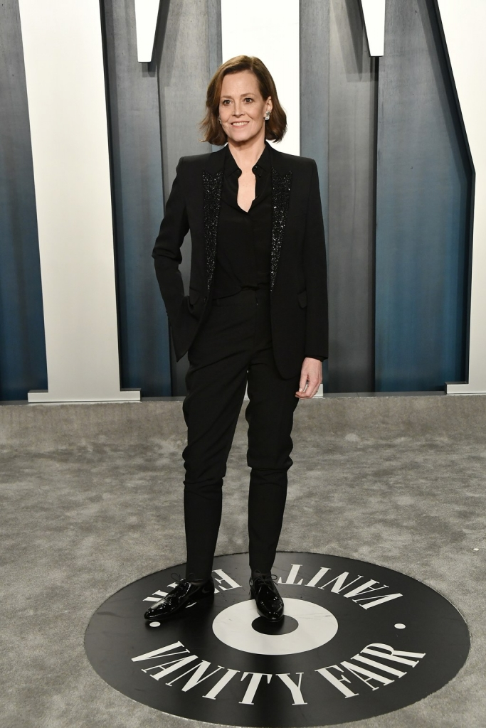 Sigourney Weaver / Saint Laurent