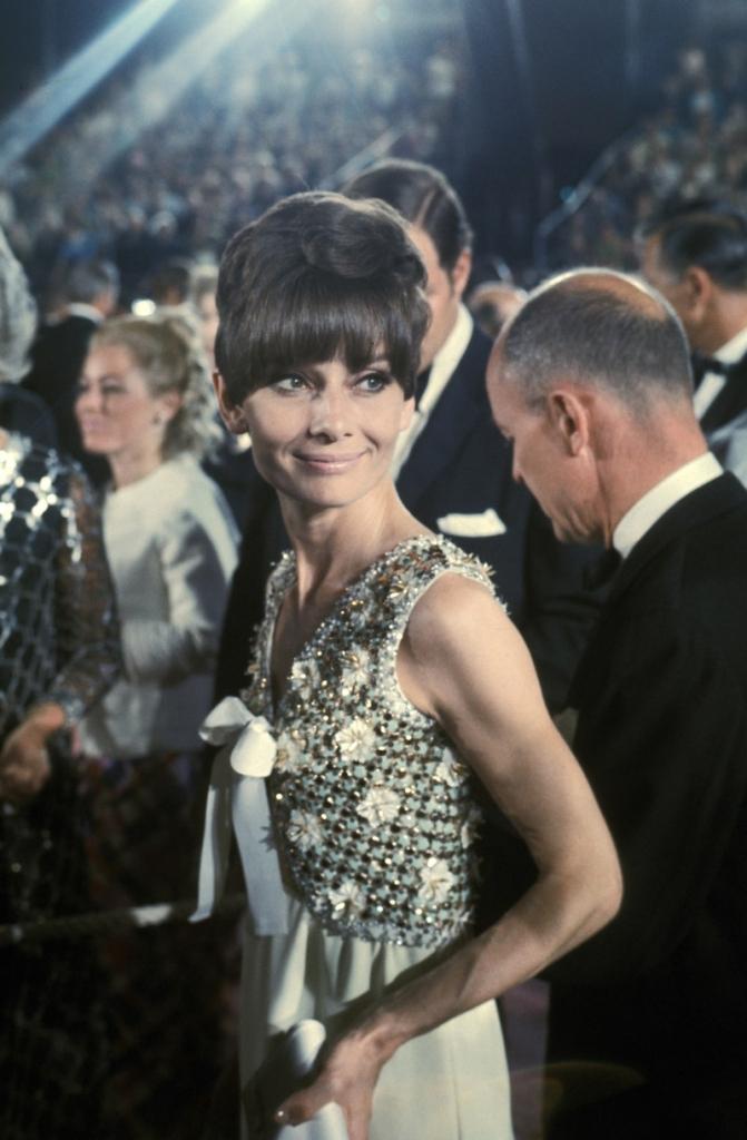 Одри Хепберн во Живанши 1975