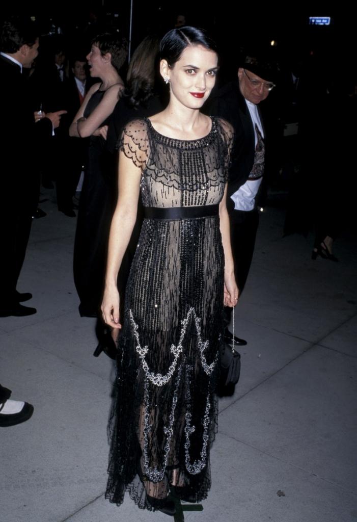 Винона Рајдер во Шанел, 1997