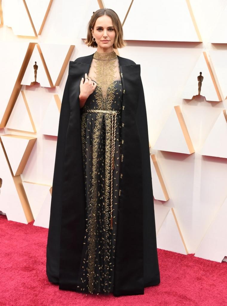 Натали Портман во Диор, 2020