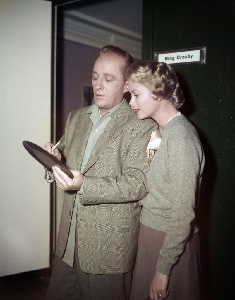 1954 - Грејс Кели со Бинг Кросби