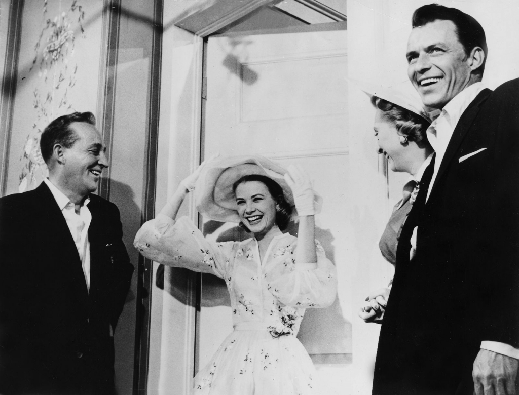 1951 – 12 декември, со Френк Синатра