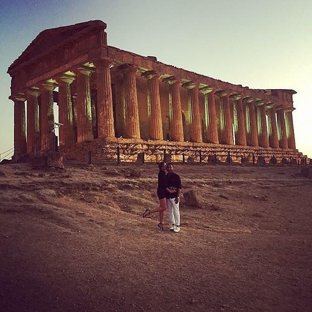Криси Тајген и Џон Леџенд уживаат во Италија