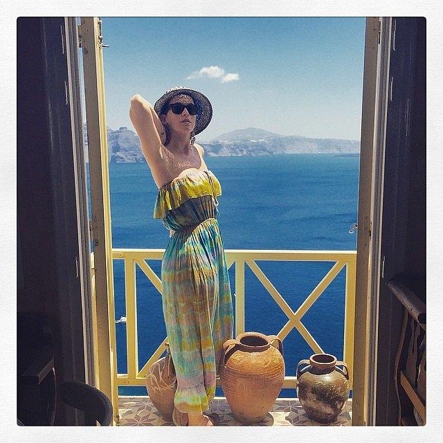 И Кејти Пери претходниот месец одмараше во Грција