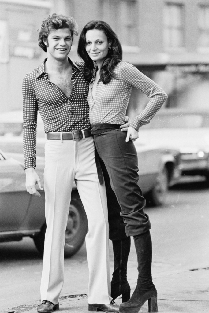 Egon and Diane von Furstenberg, 1970