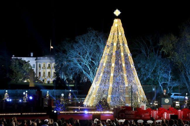Елката во Белата куќа, Вашингтон