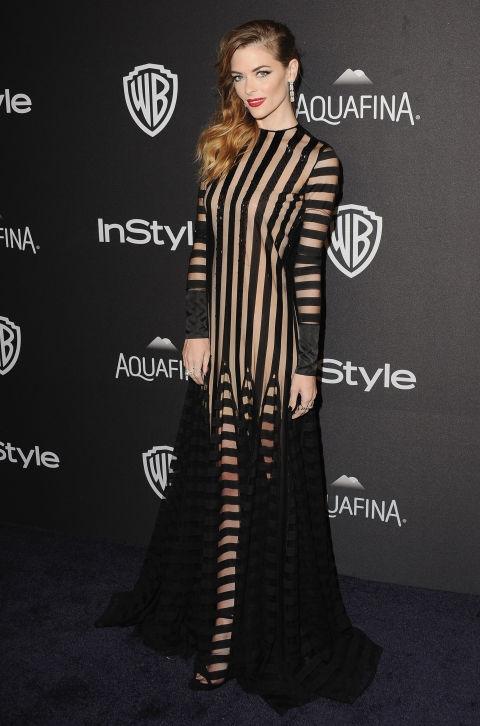 Џејми Кинг во фустан на Монсе
