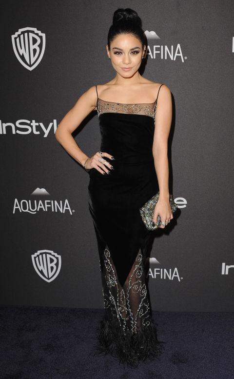 Ванеса Хаџинс во фустан на CD Greene