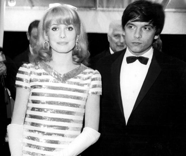 Кетрин Денев и Дејвид Бејли, 1966
