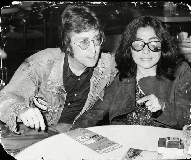 Џон Ленон и Јоко Оно, 1971