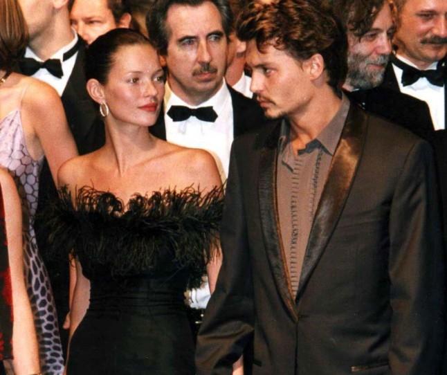 Кејт Мос и Џони Деп, 1998
