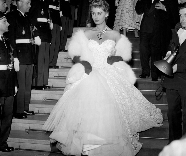Софија Лорен, 1955
